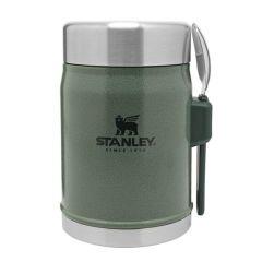 Stanley Classic Ruokatermos + Spork 0.4L, vihreä