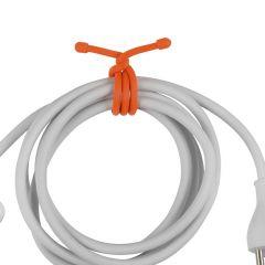 """Nite Ize GearTie Twist Tie 12"""" 2-pack, oranssi"""