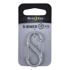 Nite Ize S-Biner Dual Carabiner #2, stainless