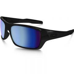 Oakley Turbine Sunglasses Frame Polished black Lens prizm deep water h20 polariz