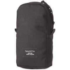 Savotta Vertical Pocket S, Black, 2 Liter